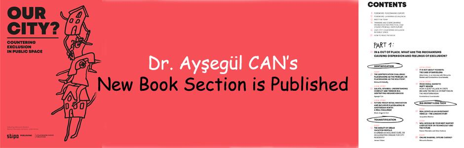 Dr.Ayşegül CAN's New Book Section is Published